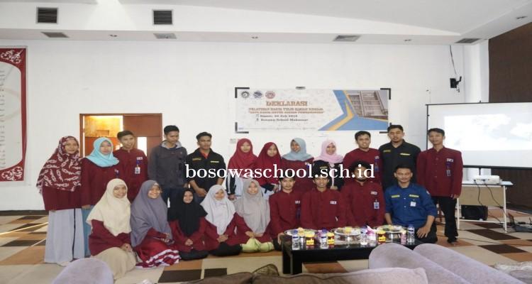 LPM Penalaran UNM Deklarasikan Bosowa School Makassar sebagai Sekolah Binaan