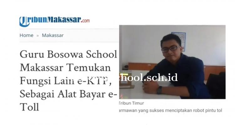 Guru Bosowa School Makassar Buktikan e-KTP Multifungsi