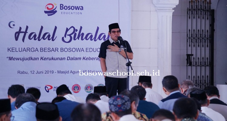 Tingkatkan Silaturahmi, Sivitas Akademika Unibos Hadiri Halal Bihalal Bosowa Education